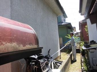 埼玉県鴻巣市:外部塗装…