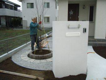 埼玉県吉見町で外構工事