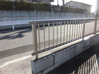 埼玉県川口市修理工事・フェンス交換