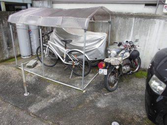 埼玉県吉見町エクステリア工事・バイクガレージ