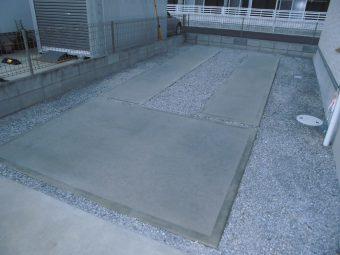 埼玉県鴻巣市リフォーム工事・手洗い器具取付け工事・駐車スペース工事