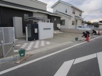 埼玉県熊谷市 外構工事