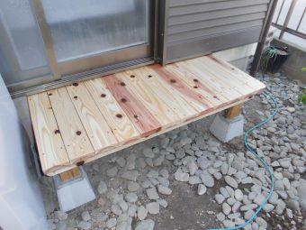 埼玉県鴻巣市・住宅リフォーム工事・テラス屋根・屋上防水工事