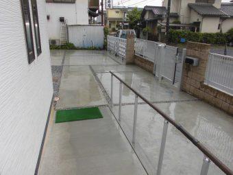 埼玉県上尾市外構工事・駐車スペース