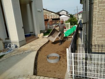 埼玉県桶川市 外構リフォーム工事