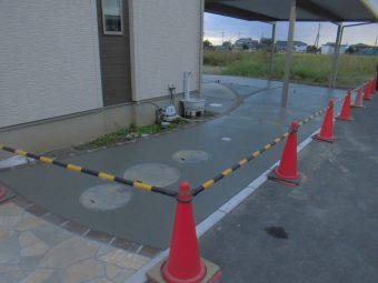 埼玉県加須市 外構工事