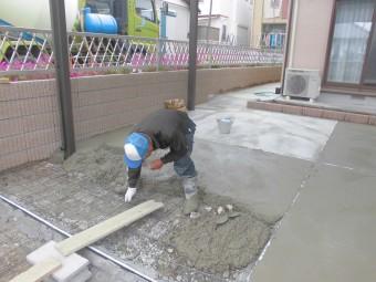 埼玉県北本市で外構工事