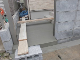 埼玉県桶川市で外構工事