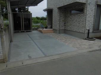 埼玉県上尾市で外構工事