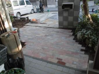 埼玉県鴻巣市で外構工事