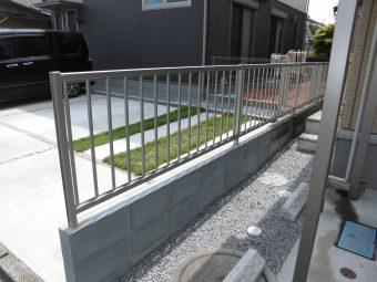 埼玉県鴻巣市修理工事・フェンス修理