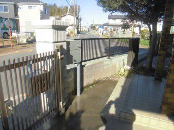 埼玉県桶川市 事故補修工事