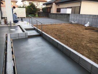 埼玉県行田市 外構工事
