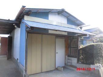 埼玉県東松山市・リフォーム工事・倉庫外壁改修