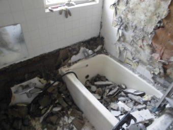 埼玉県鴻巣市・住宅リフォーム工事・浴室・洗面室リフォーム工事
