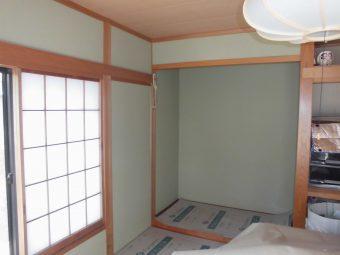 埼玉県熊谷市住宅リフォーム工事・内装クロスリフォーム