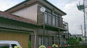 埼玉県鴻巣市・住宅リフォーム工事・外部改修工事