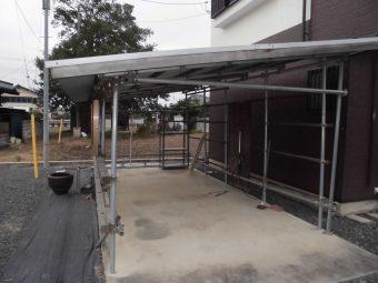 埼玉県鴻巣市・修理工事・台風被害