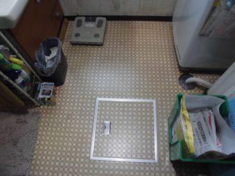 埼玉県鴻巣市赤見台・住宅リフォーム工事・洗面室・浴室リフォーム