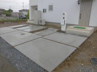 埼玉県滑川町羽尾外構工事