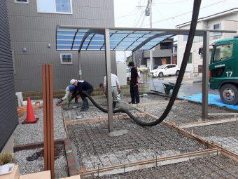 埼玉県鴻巣市北新宿外構工事