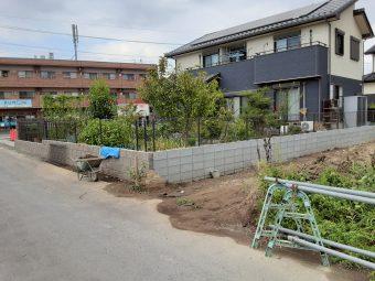 埼玉県熊谷市上之外構リフォーム工事