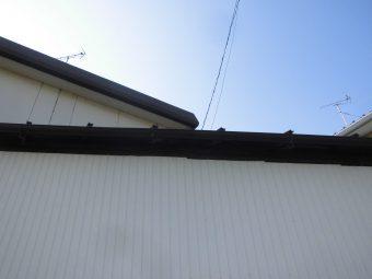 埼玉県鴻巣市吹上富士見・住宅修繕修理工事・雨樋修繕