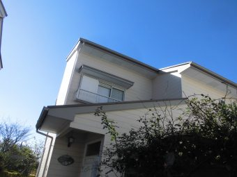 埼玉県鴻巣市赤見台・住宅修繕修理工事・下屋根塗装