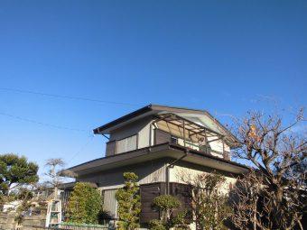埼玉県鴻巣市吹上富士見・住宅改修工事・屋根改修工事
