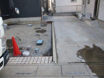 埼玉県桶川市外構リフォーム工事
