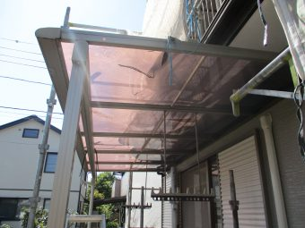 埼玉県伊奈町小室・住宅修繕修理・外装リフォーム工事