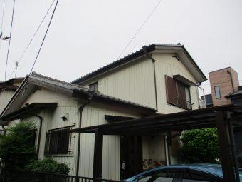 埼玉県上尾市井戸木・住宅リフォーム工事・外壁塗装
