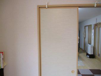 埼玉県鴻巣市東・住宅リフォーム工事・室内間仕切壁