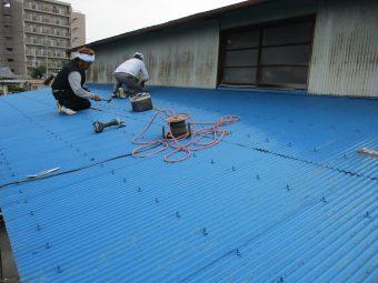 埼玉県鴻巣市榎戸・住宅修繕工事・テラス屋根修理