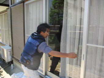 埼玉県鴻巣市富士見町・住宅リフォーム工事・網戸交換