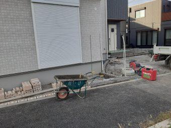 埼玉県北本市外構工事